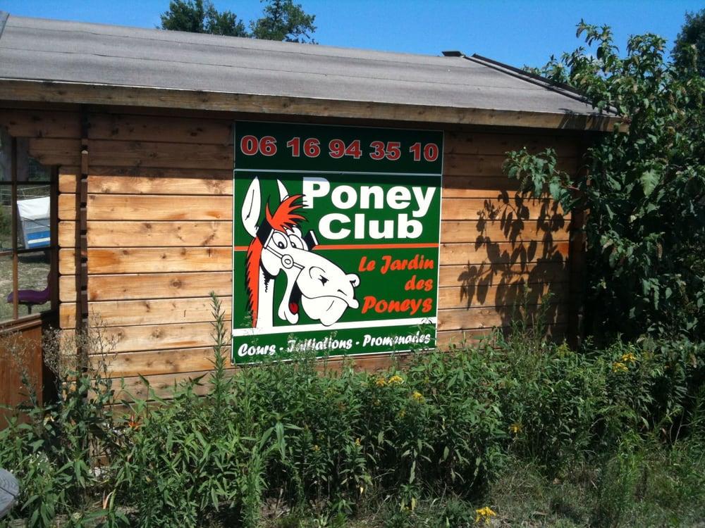 Le jardin des poney plumbing 17 route de la sabli re for Le jardin de la france