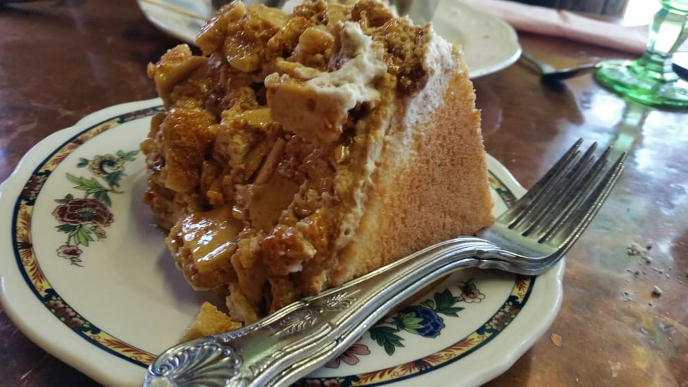 Madonna Inn Toffee Crunch Cake