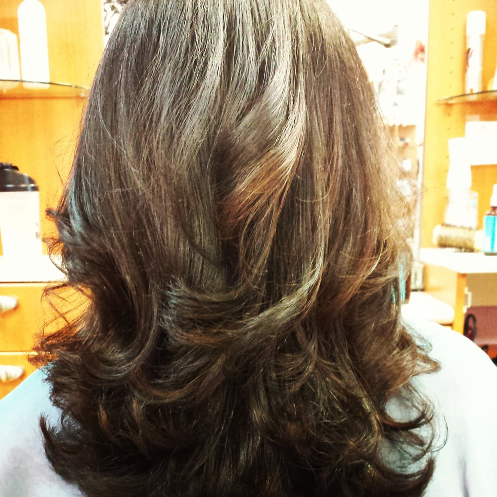 Color and haircut by lindsey yelp for Allure hair salon