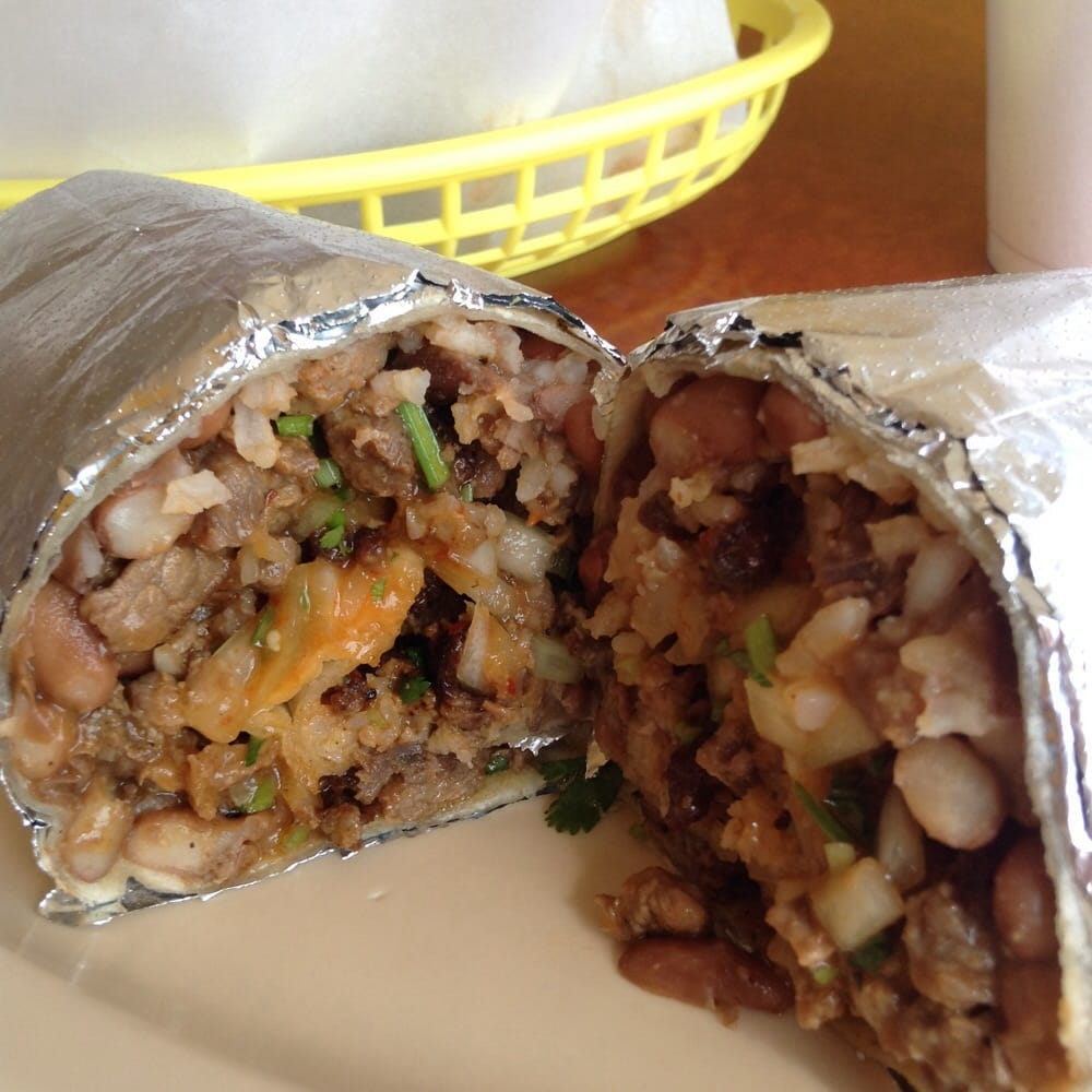Carne Asada burrito! Salsa is the bomb! - Yelp