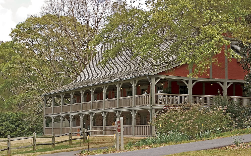 The gardens restaurant is located inside what was the original golf clubhouse on the edge of for Hotels near callaway gardens ga