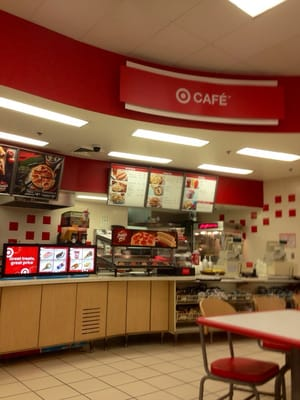 Target Cafe Pizza Hours
