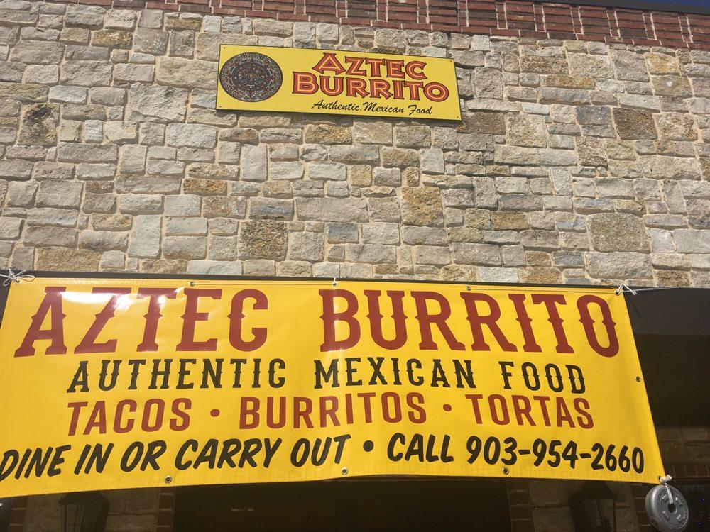 Aztec Burrito: 475 E Main St, Bullard, TX