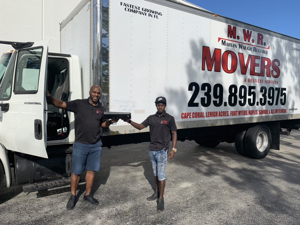 MWR Movers And Delivery Service: 2240 Barden st, Fort Myers, FL