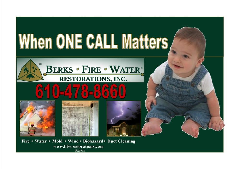 Berks Fire Water Restorations: 1145 Commons Blvd, Reading, PA