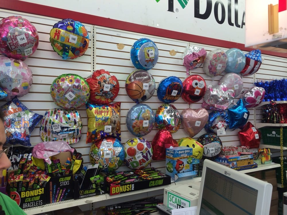 Helium Mylar Balloons