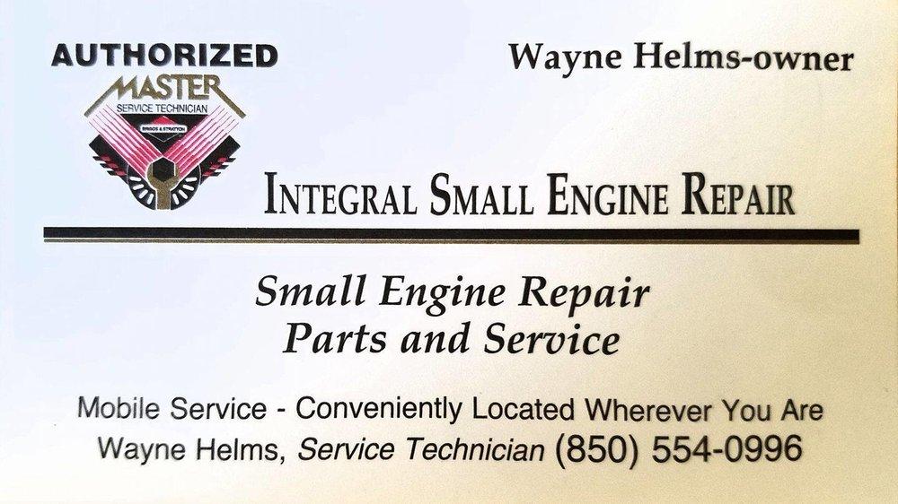 Integral Small Engine Repair: 5150 Chavers St, Milton, FL