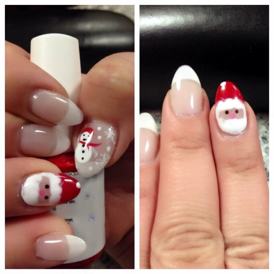 Christmas Nail Art Ruby Nails Yelp