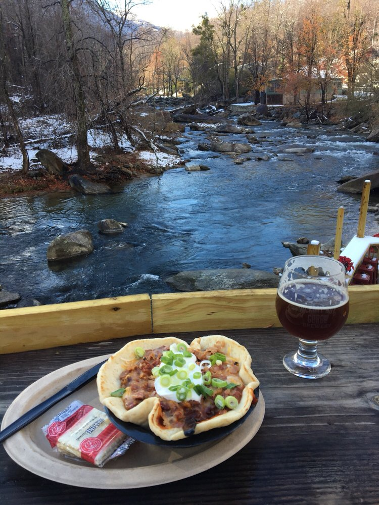 Hickory Nut Gorge Brewery at Chimney Rock: 461 Main St, Chimney Rock, NC