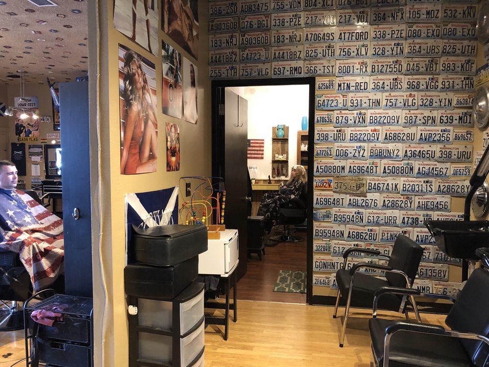 Man Cave Barber Shop: 18960 Sr 2, Monroe, WA