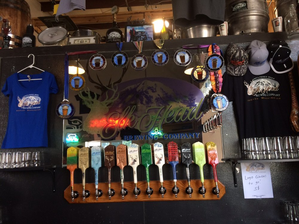 Elk Head Brewing Company: 28120 State Rte 410 E, Buckley, WA