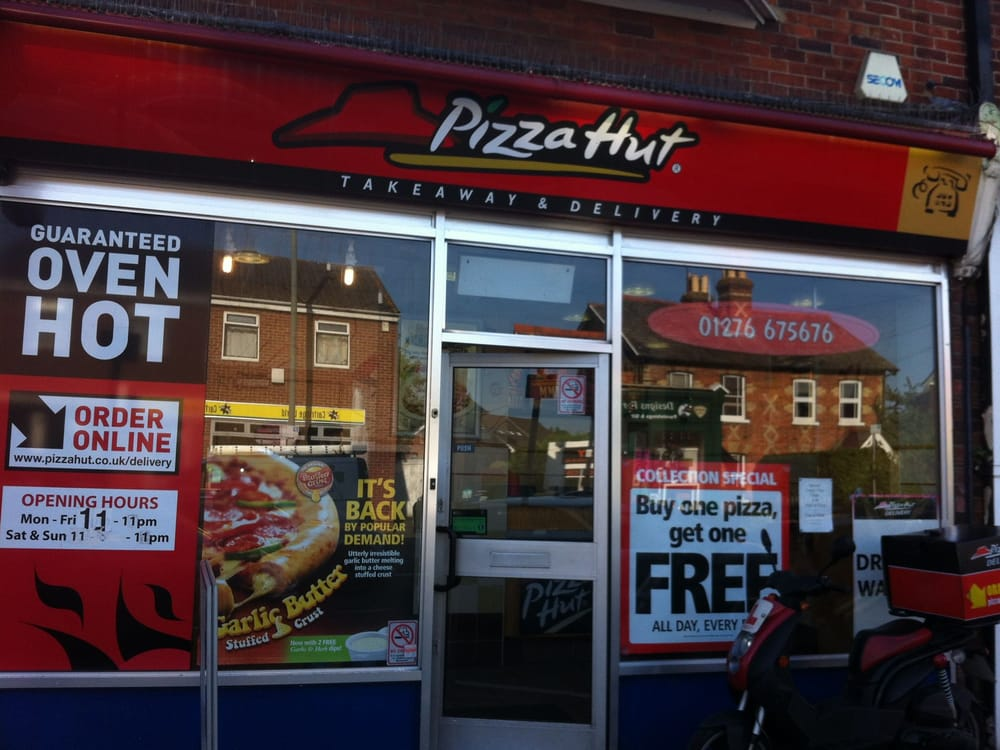 pizza hut pizza 136 frimley rd camberley surrey. Black Bedroom Furniture Sets. Home Design Ideas