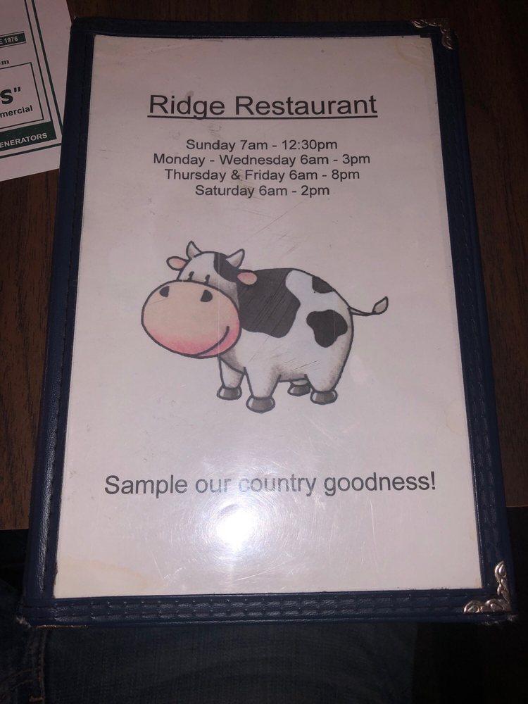 Ridge Restaurant: 960 Ridge Rd, Pottstown, PA