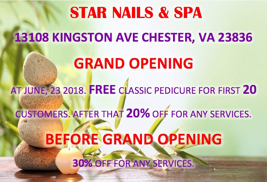 Photos for Star Nails & Spa - Yelp