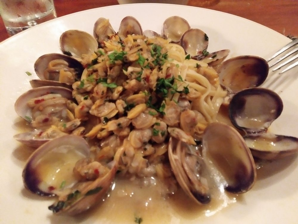 Linguine with clams yelp for Spenger s fresh fish grotto