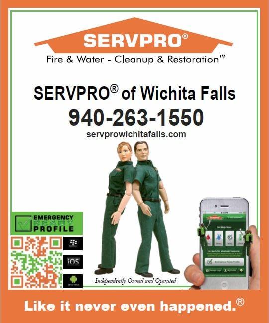 SERVPRO of Wichita Falls: 2165 Felena Trail, Wichita Falls, TX