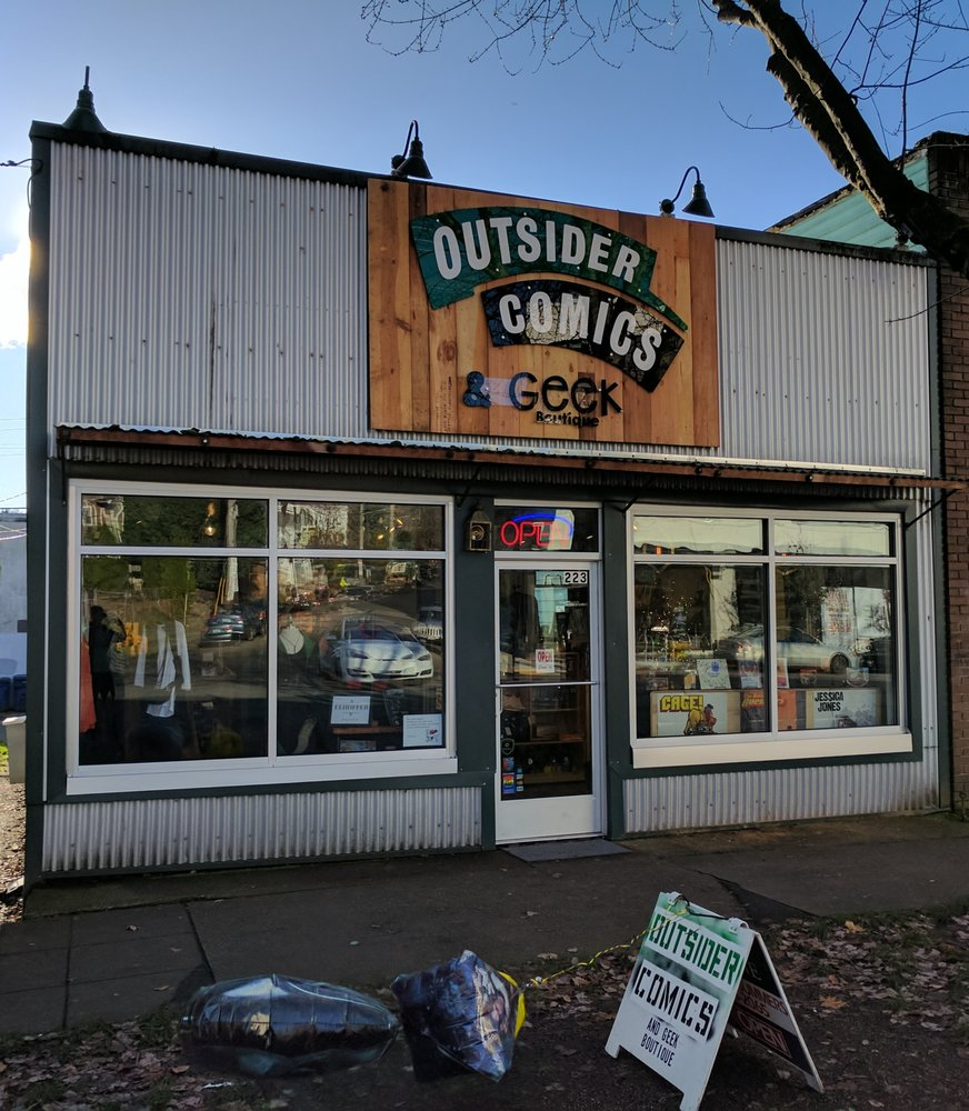 Outsider Comics And Geek Boutique: 223 N 36th St, Seattle, WA