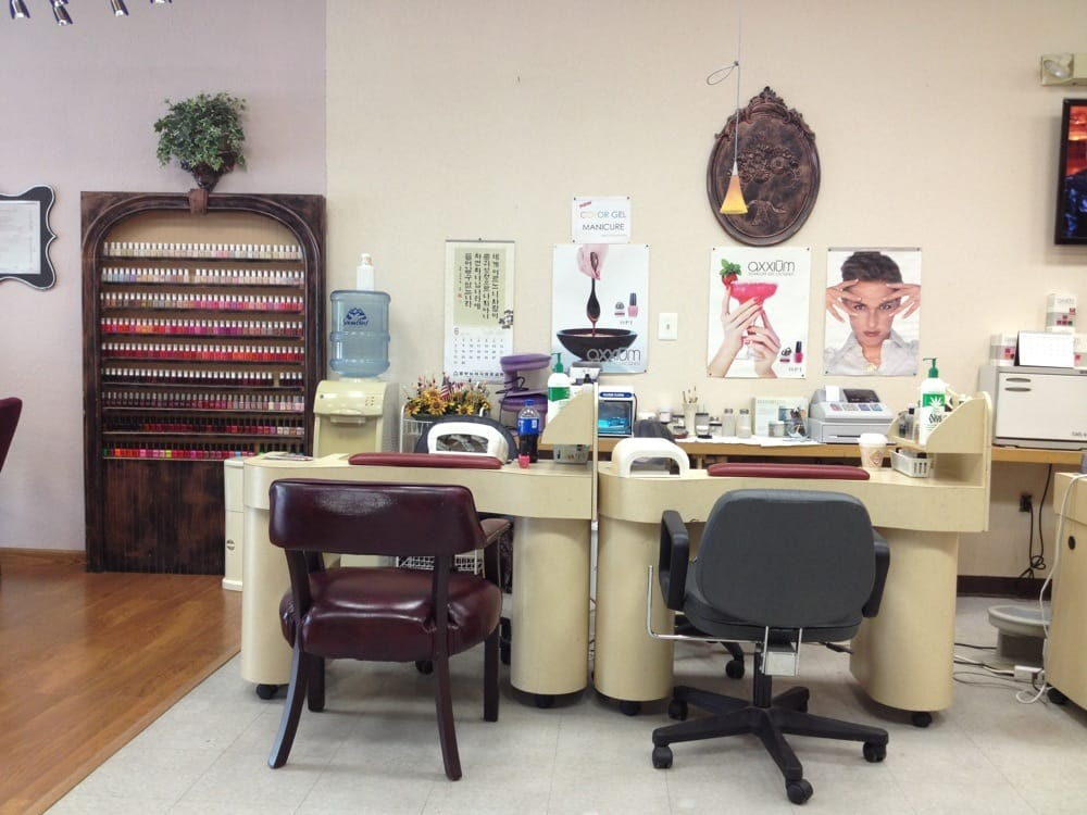 Color selection and manicure stations yelp for Aaina beauty salon somerset nj