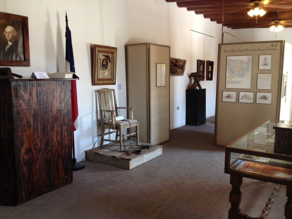 Old El Paso County Jail Museum: 1551 Main St, San Elizario, TX