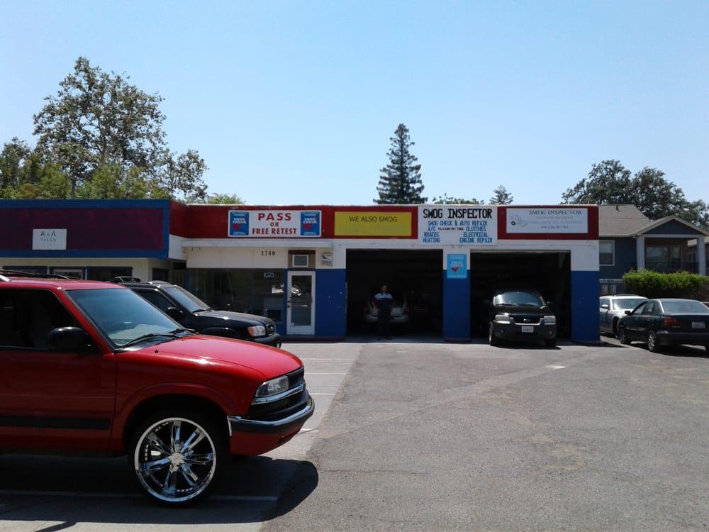 Smog Inspector: 1740 Park Ave, Chico, CA