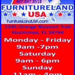 Photo Of Furnitureland USA   Kissimmee, FL, United States. Hours Of  Operation