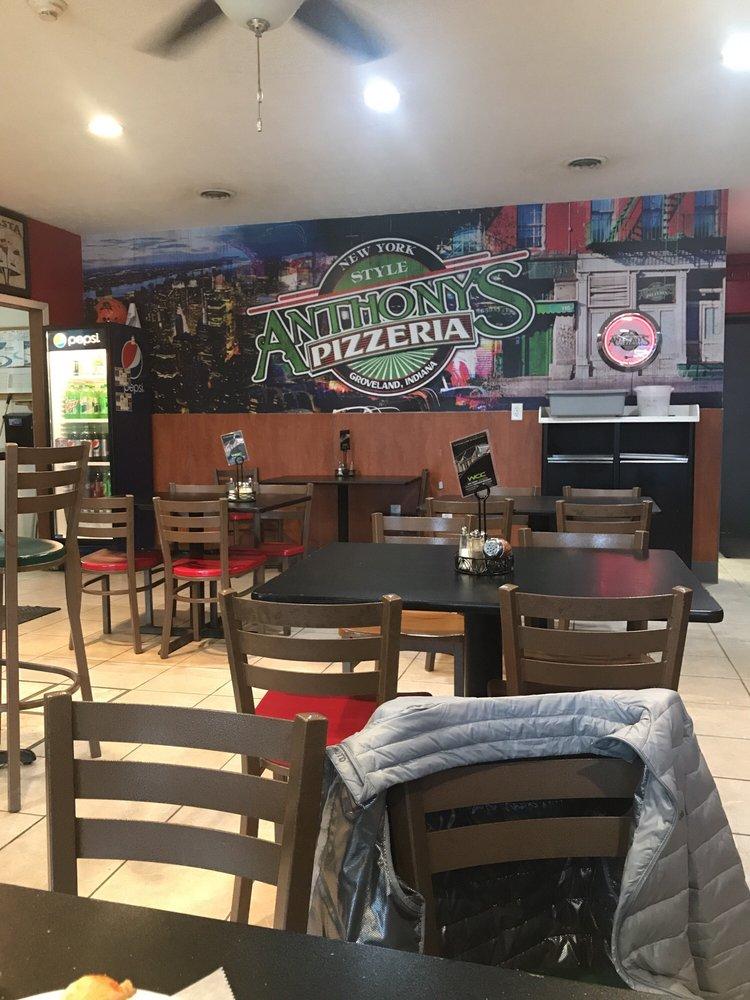 Anthony's Pizzeria: 7282 E US Hwy 36, Coatesville, IN
