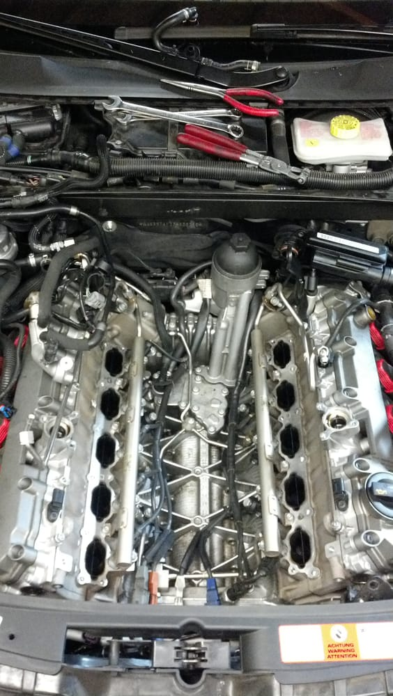 Photo Of Raven Motorsports Long Beach Ca United States Audi S6 52: Audi V10 Engine Diagram At Eklablog.co