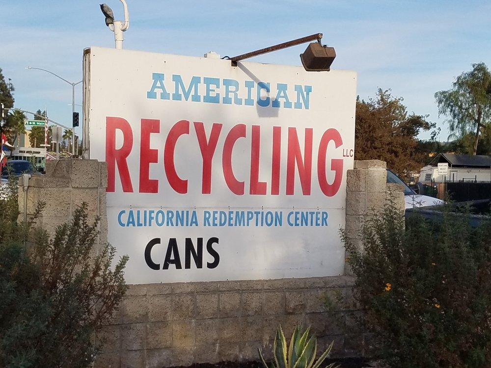 American Recycling: 210 El Cajon Blvd, El Cajon, CA