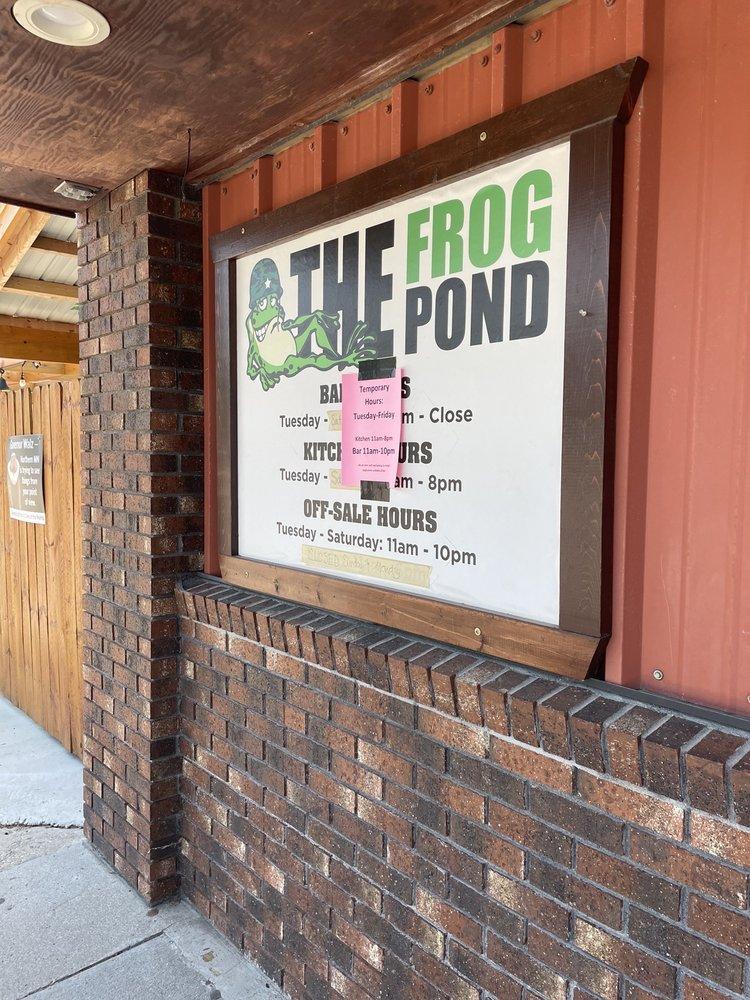 The Frog Pond: 203 Main St, Halma, MN