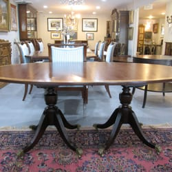 Photo Of Eisenhower Consignment   Alexandria, VA, United States. Double  Pedestal Mahogany Dining ...