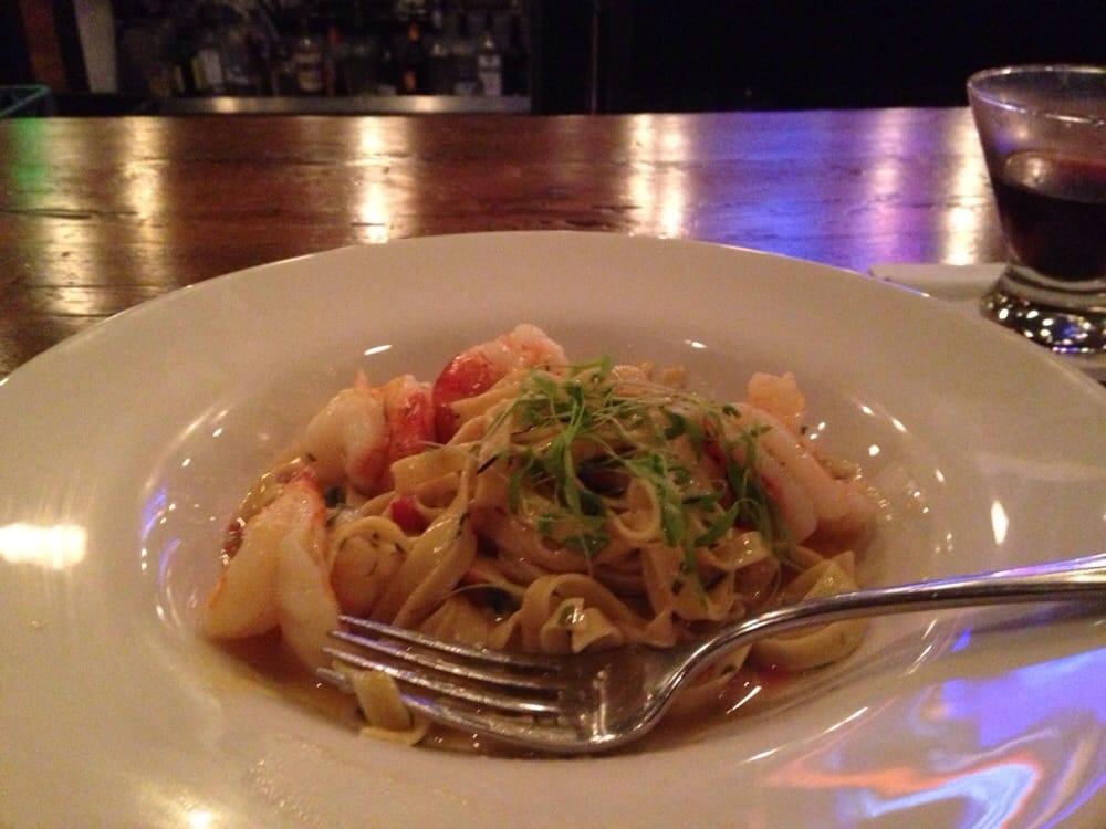 Pasta and huge prawns yelp for Food bar petaluma
