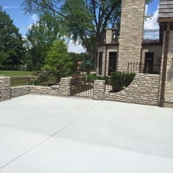 Photo Of TMD Construction   Lombard, IL, United States. Poured Retaining  Wall/