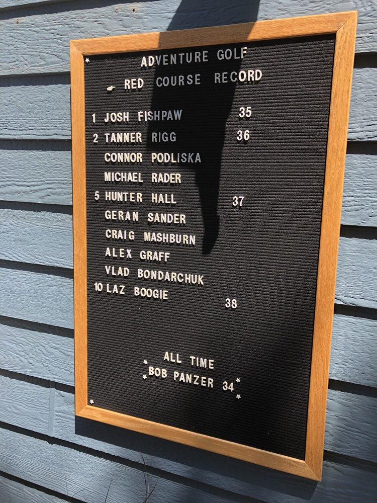 Adventure Golf Center: 56TH Old Cheney Rd, Lincoln, NE