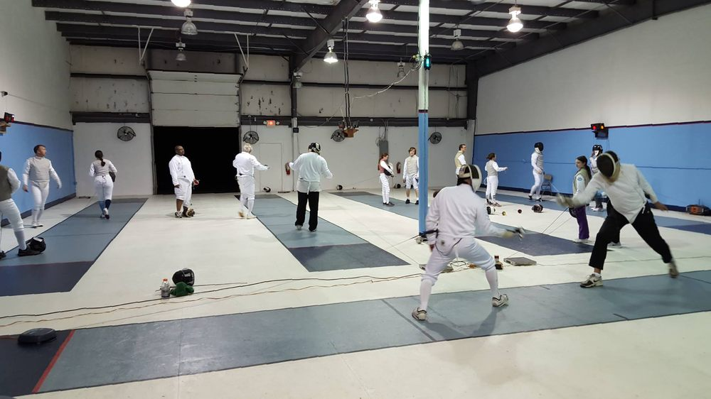 Tidewater Fencing Club: 1417 Kelland Dr, Chesapeake, VA