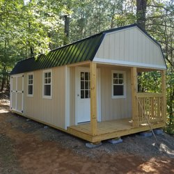 Photo Of Smart Shed   Lavonia, GA, United States. Customized Lofted Cabin