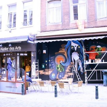 L atelier des arts ferm bistrot rue haute 9 for Ateliers cuisine bruxelles