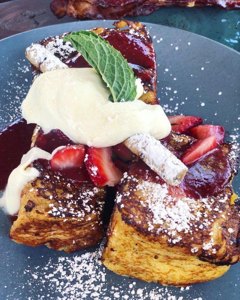 Photo Of Kitchen Table Henderson Nv United States Strawberry Shortcake French Toast