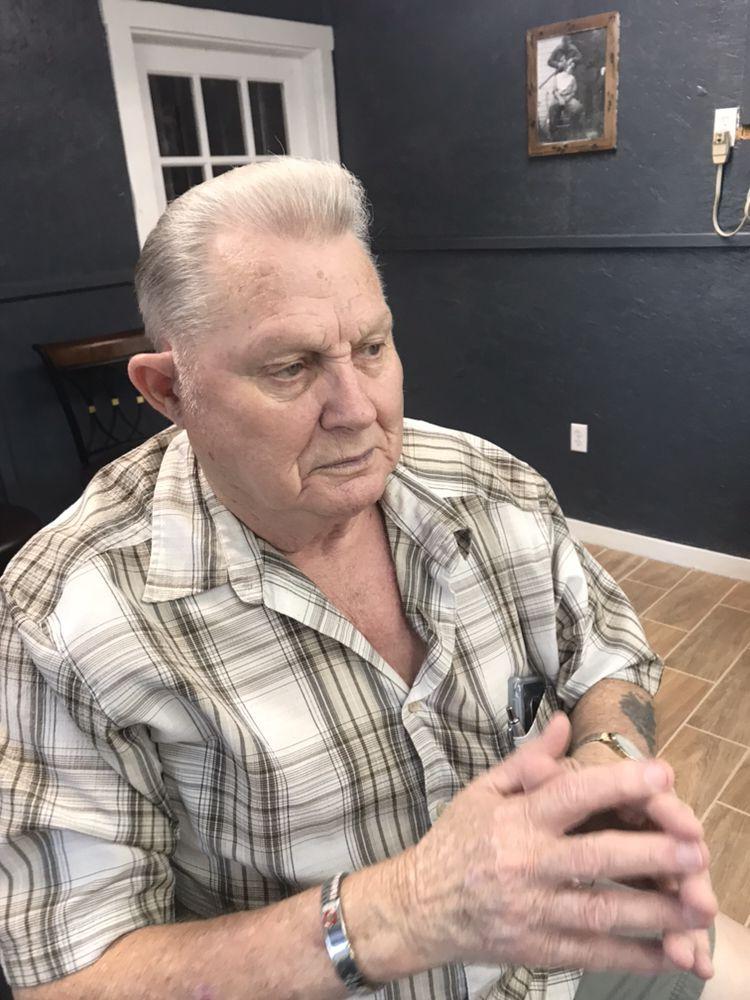 The Ax Edge Barbershop: 13860 Highway 105 E, Cut and Shoot, TX