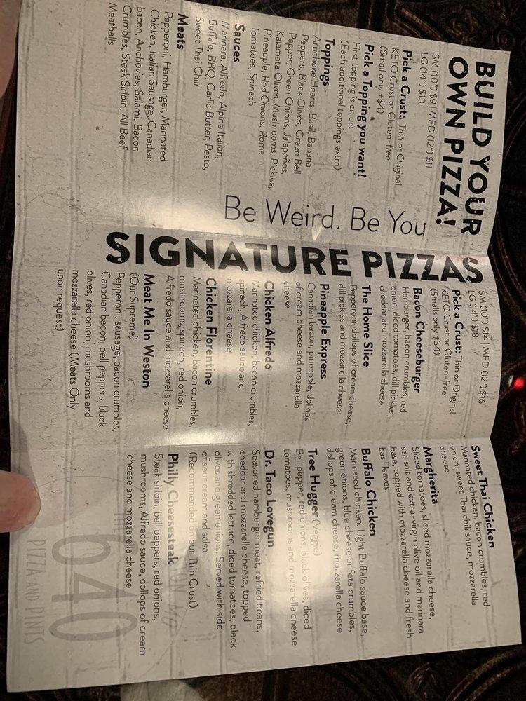 The 640 Pizza & Pints: 710 Thomas St, Weston, MO