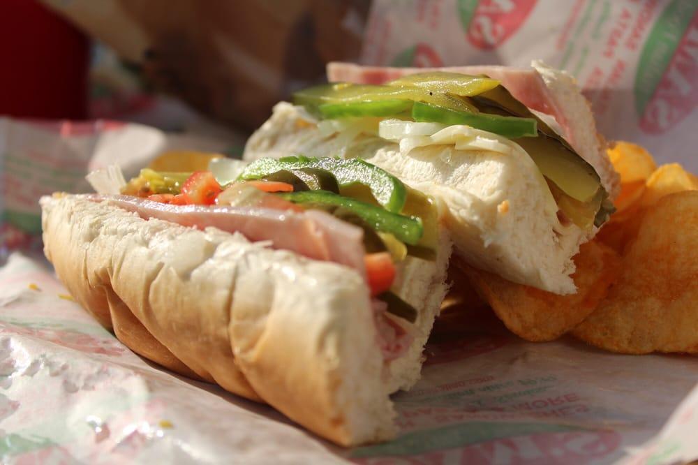Food from Sam's Italian Sandwich Shoppes