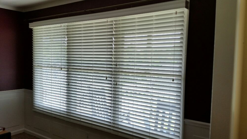 3 Horizontal Blinds To Cover A Large Picture Window With