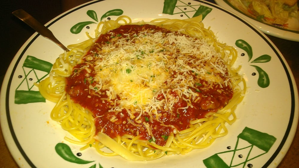 Spaghetti With Four Cheese Meat Sauce Yelp