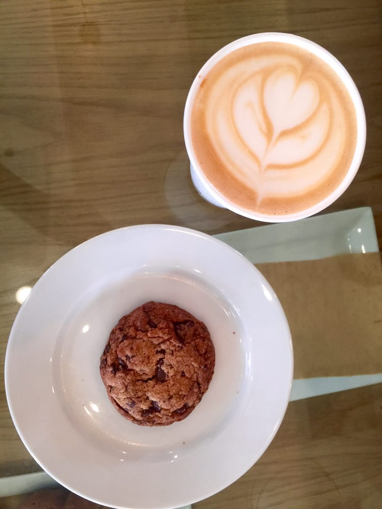 Sweet latte chocolate chip cookie yelp for The combine kitchen
