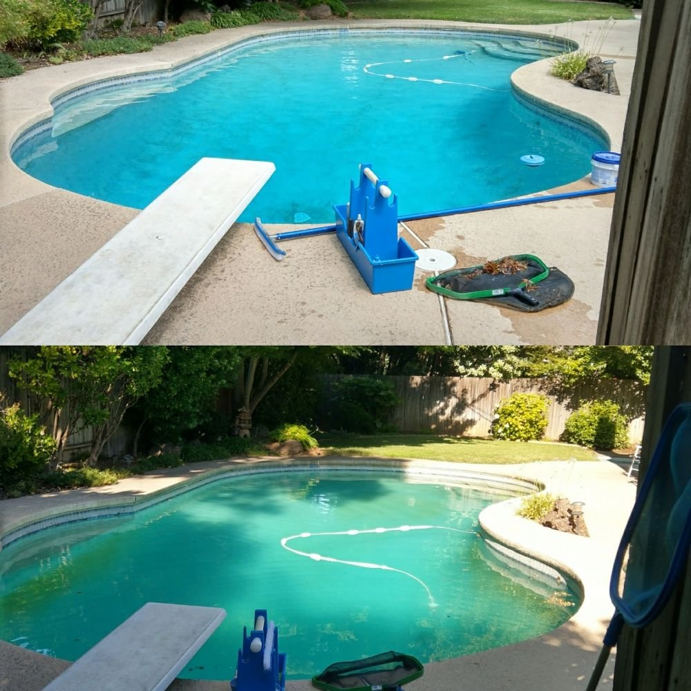 Fresh Water Pool Service: 5243 Winding Way, Carmichael, CA