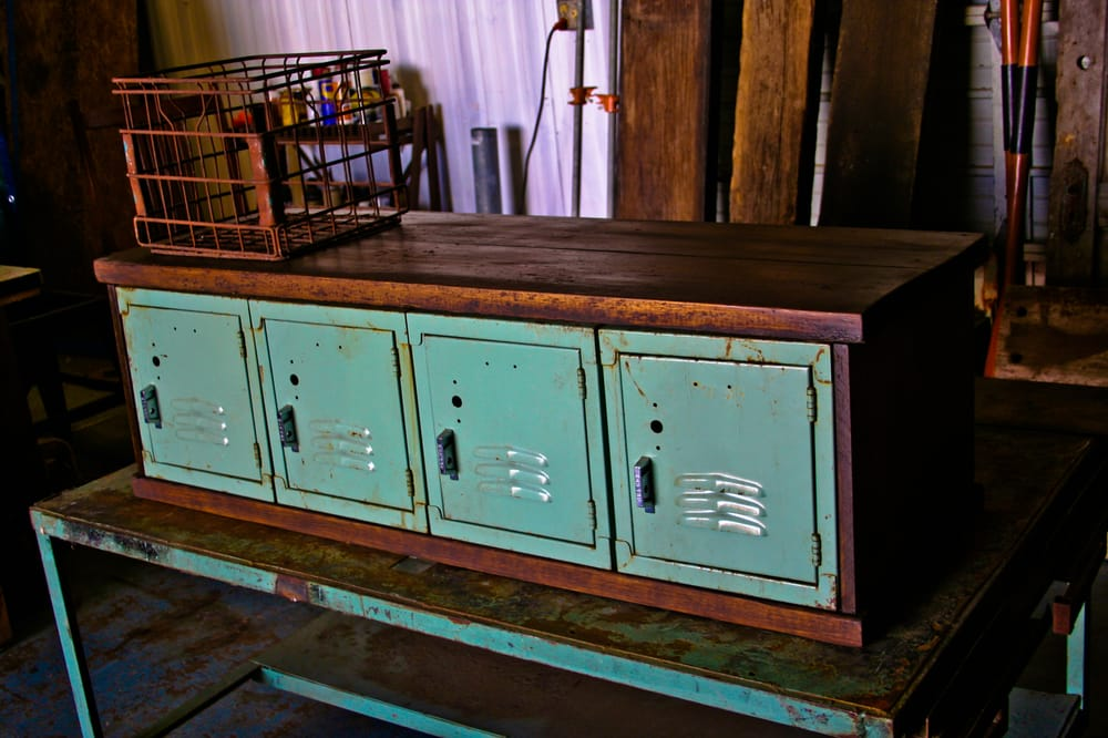 Photo Of Endever Furniture   Round Rock, TX, United States. Vintage Locker  Cabinet