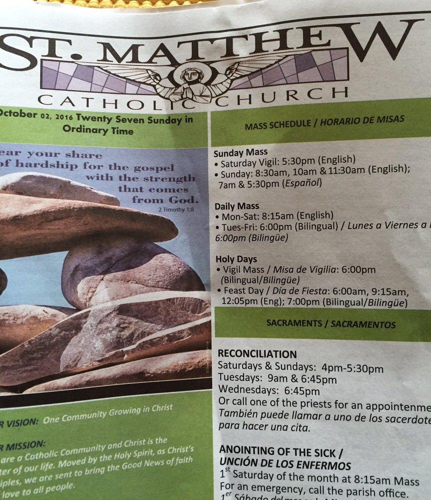 st matthew catholic church - churches - 310 se oak st, hillsboro, or