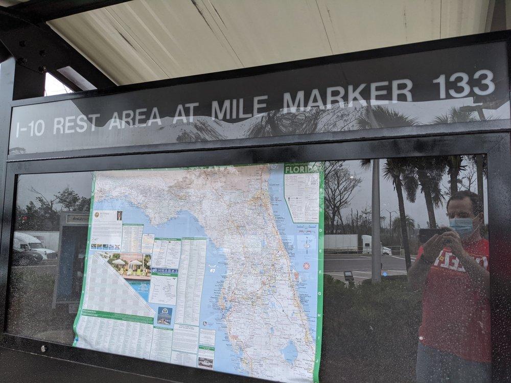 I -10 Rest Area: Interstate 10 Mile Marker 133, Cottondale, FL