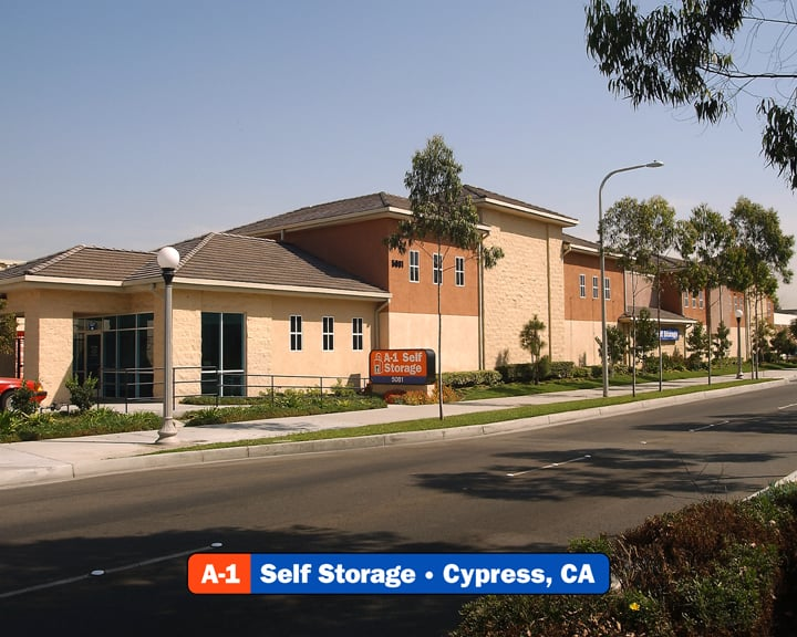 A-1 Self Storage: 5081 Lincoln Ave, Cypress, CA
