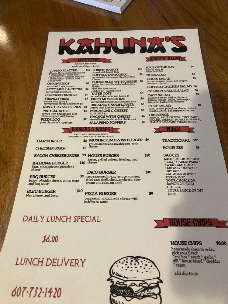 Kahuna's: 457-479 Luce St, Elmira, NY