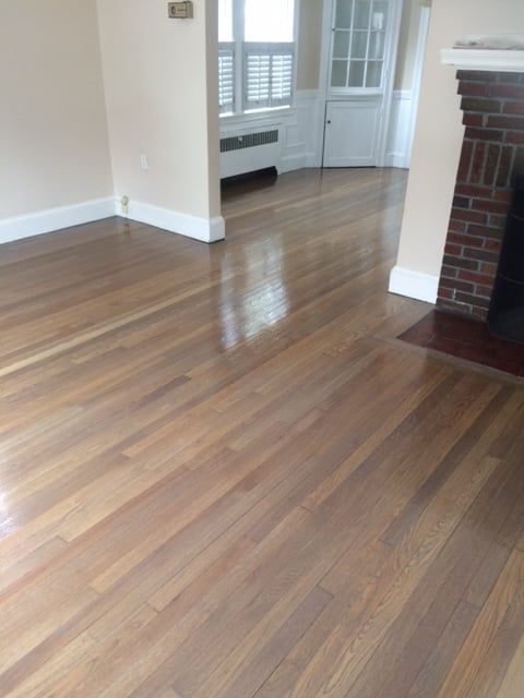 Classic gray stain minwax yelp for Hardwood floors quincy ma